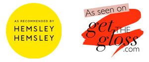 as seen on get the gloss and hemsley and hemsley